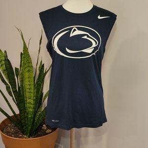 Nike Dri-Fit Sleeveless Penn State PSU Tank